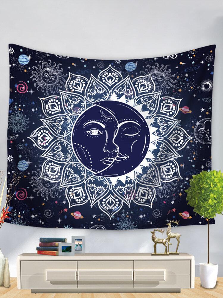 Bohemian Mandala Tarot Constellation Wall Hanging Tapestries Home Living Room Art Decor Beach Towels