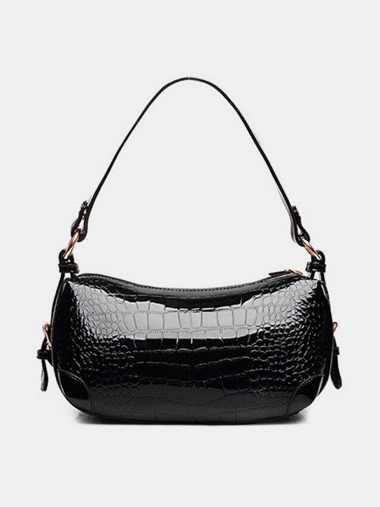 Women PU Leather Casual  Elegant Handbag Crossbody Bag Shoulder Bag