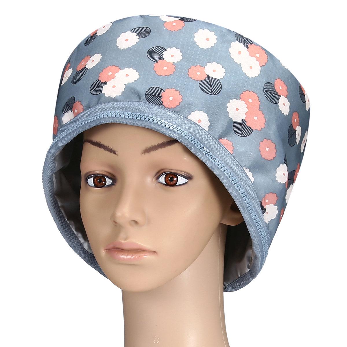 3 Datei Elektrische Kappe Heizkappe Startseite Haarpflegekappe Haarmaske Haar Scalp Treatments