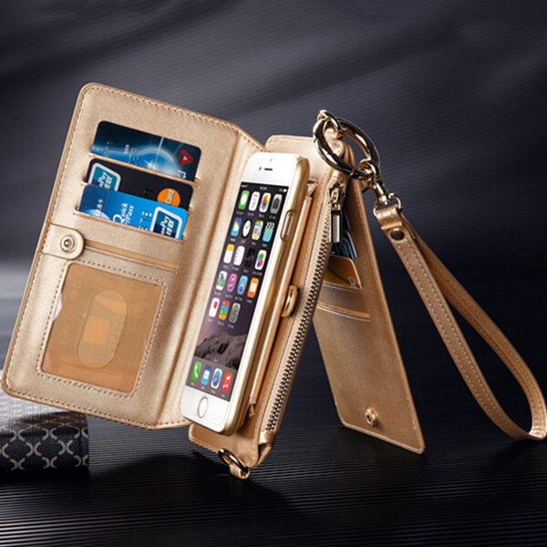 Phone Case Women Men Multi-slot Multifuncitonal Wallet Tote For Iphone 6/6s Iphone 6 plus/6s plus