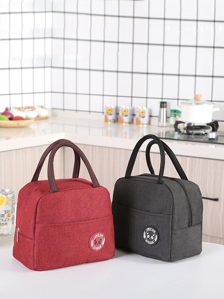 حقيبة عزل محمولة من سلسلة كاتيونيك ضد للماء حقيبة صندوق غداء معزولة حقيبة معزولة حقيبة غداء سميكة مع كيس أرز كيس ثلج