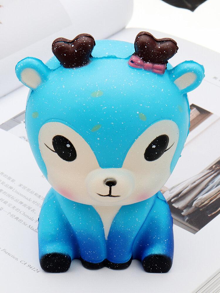 Squishy kawaii en forma de cervatillo galáctico Slow Rising Collection Toy Soft Regalo