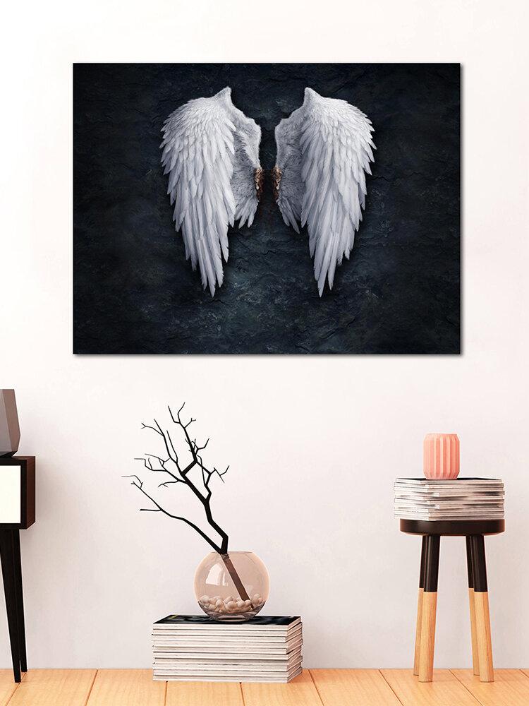 <US Instock>لوحة أجنحة الملاك غير المؤطرة أزياء مجردة جدار الفن غرفة المعيشة ديكور غرفة نوم قماش