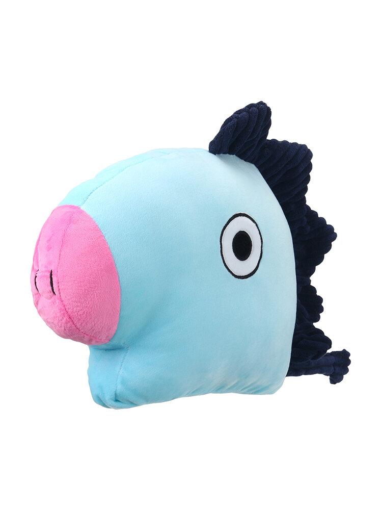 Cartoon Shaped Plush Cushion Cute Soft Throw Pillow Doll Toy For Kid Home Decor