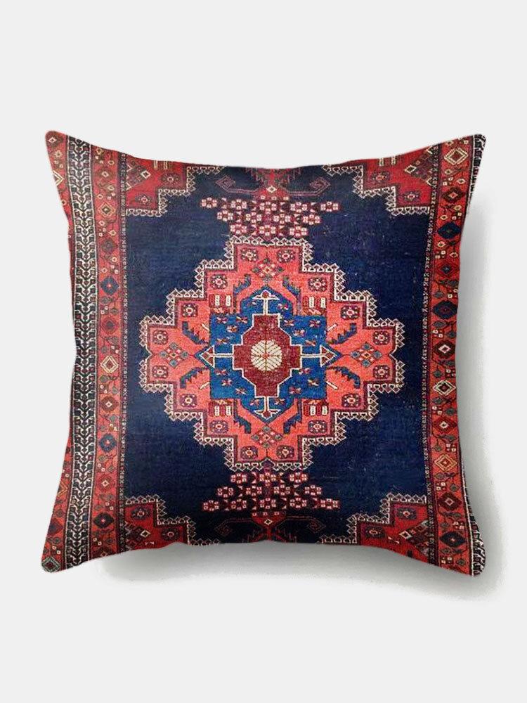 1PC Retro Moroccan Printing Pillowcase Home Decor Sofa Living Room Car Throw Cushion Cover