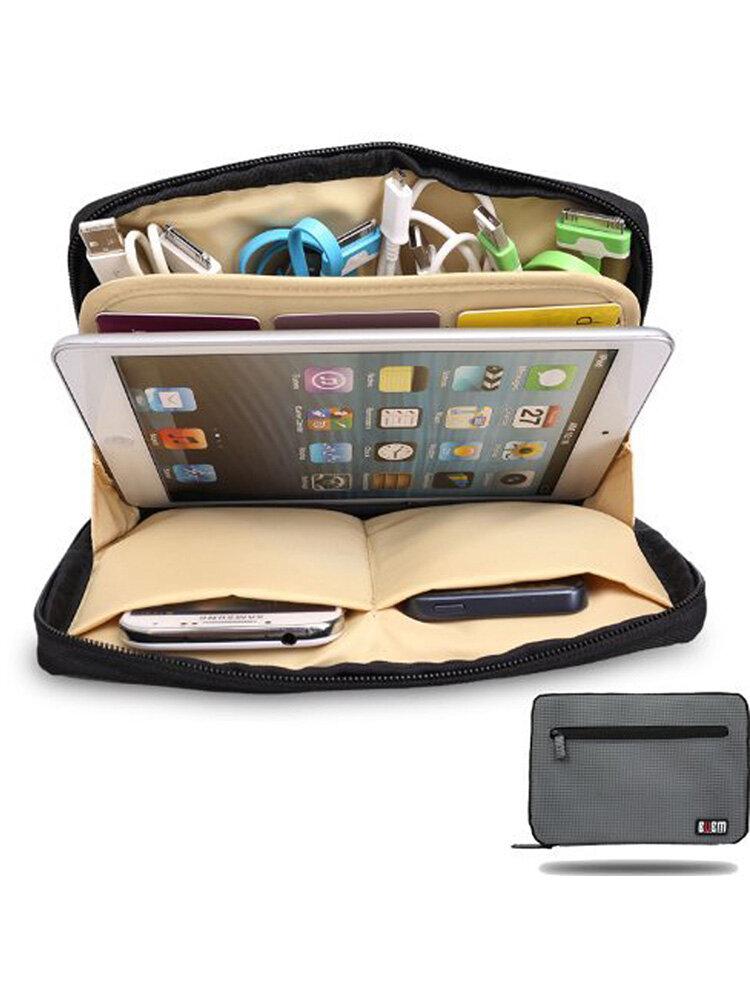 BUBM Portable Universal Electronics Storage Bag iPad Tablet Digit Data Bag