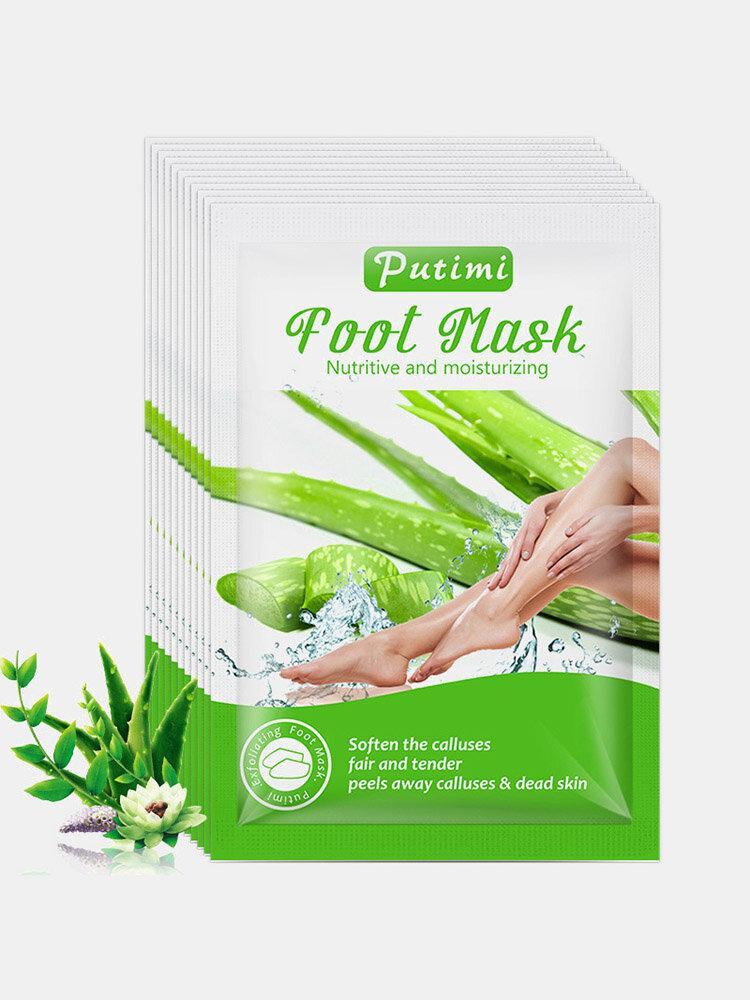 Feet Exfoliating Foot Mask Moisturizing Hydrating Peeling Dead Skin Calluses Foot Spa Pedicure Socks