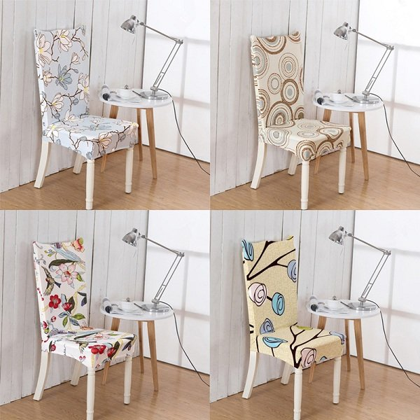 Spandex Stretch Chair Cover Wedding Banquet Party Decor Dining Room Seat Cover