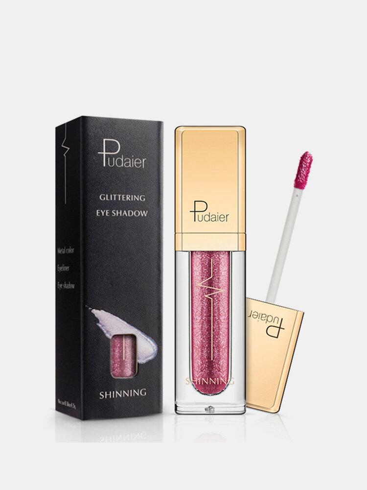 Diamond Shimmer Liquid Eyeshadow Waterproof Eye Shadow Pen Glitter Smoky Eye Makeup Comestic