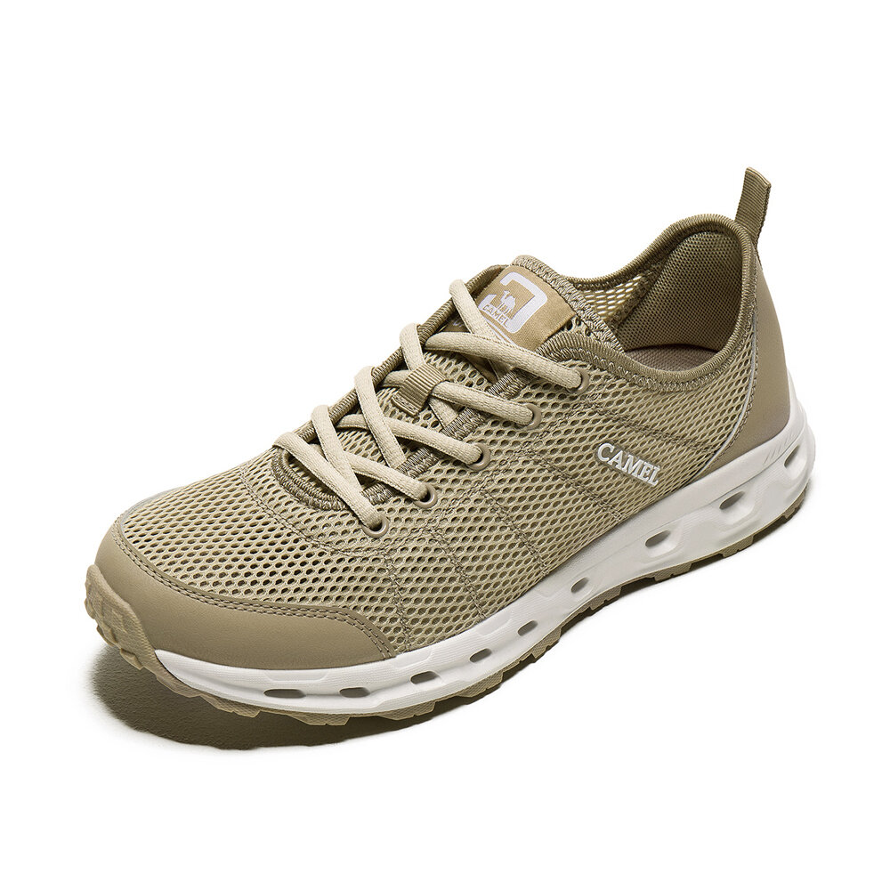 CAMEL CROWN Men Breathable-Mesh Lightweight Anti-slip Water Shoes