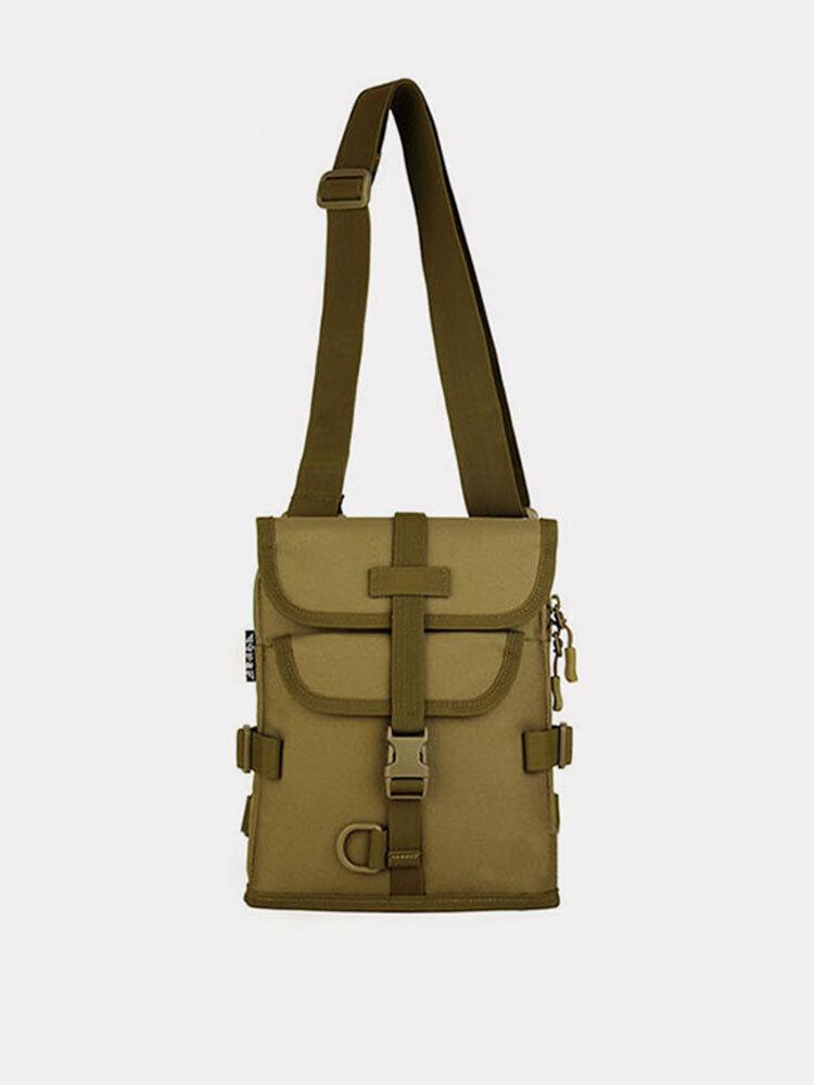 Men Women Outdoor Tactical Shoulder Bag Double Use Sports Hiking Multifunction Bag