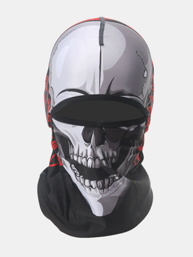 Mens Breathable Sweat Mouth Full Face Mask Hat Cycling Masks Hoods Sun Hats