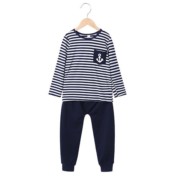 18344d1cab Sailor Boys Sport Suits Children Clothes Set for boy Kids Tracksuit  T-Shirts Trouser Sets Boys Cloth