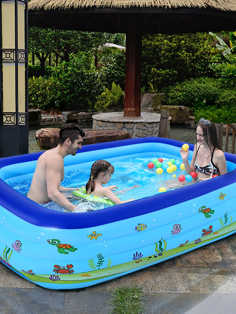 Children's Inflatable Swimming Pool Adult Home Paddling Pool Thickened Wear-Resistant Marine Ball Inflatable Swimming Pool