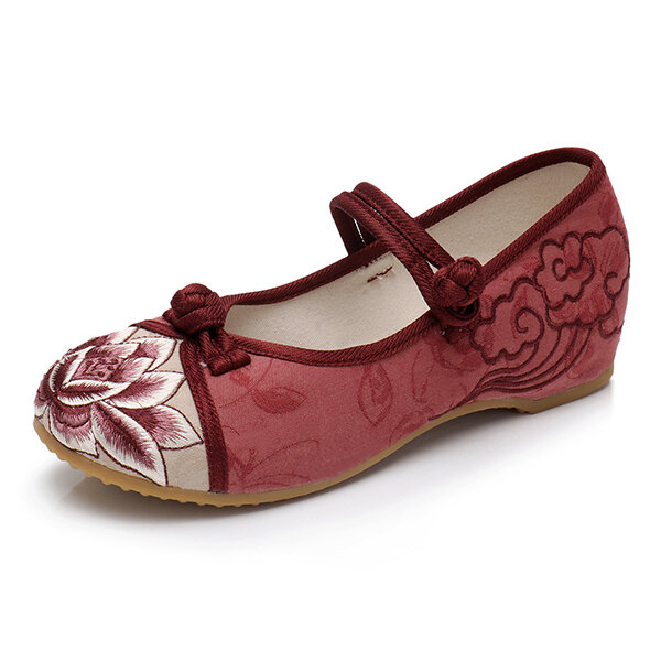 Chinese Knot Flower Vintage Loafers