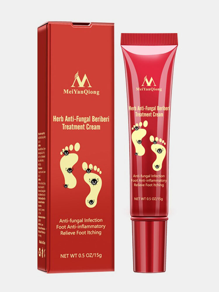 Anti Fungal Foot Cream Anti Infection Relief Foot Itching Foot  Anti-Inflammatory Herb Foot Cream