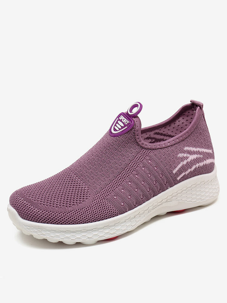 Women Big Size Running Mesh Comfy Breathable Outdoor Sneakers Casual Shoes