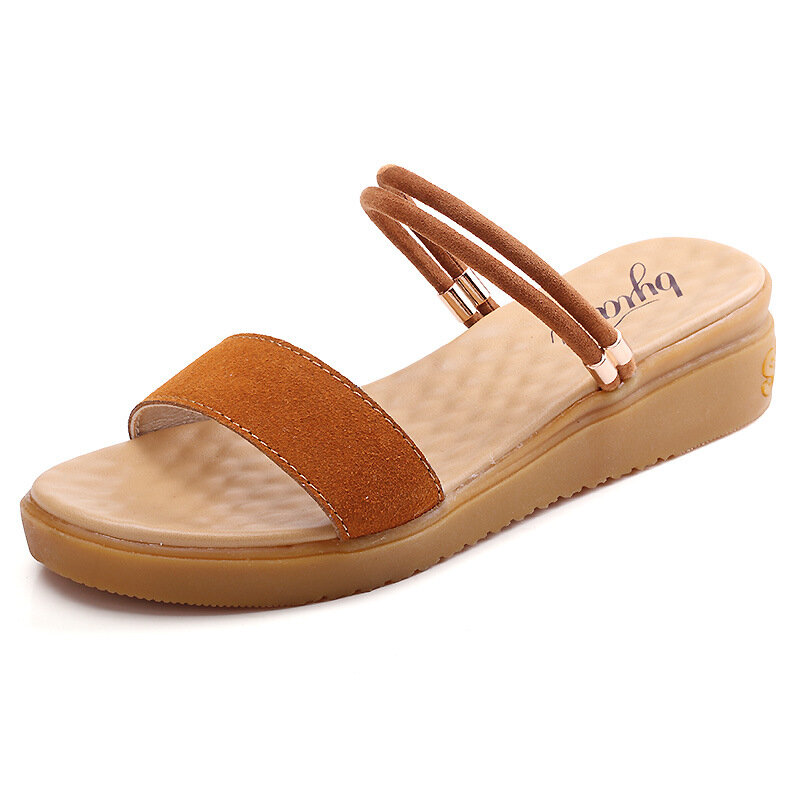 Cow Leather Multi-Way Sandals