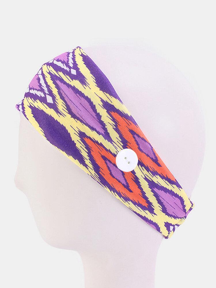 Unisex Yoga Hairband Headband Outdoor Sports Sweat-absorbent Hairband