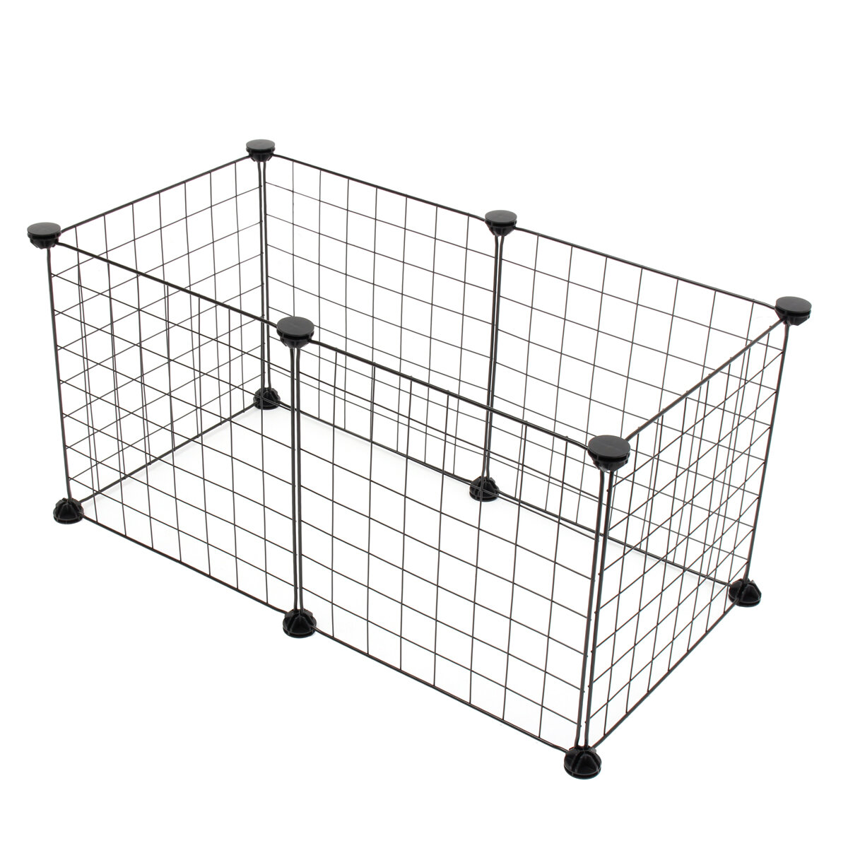 610_Foldable_Panels_Pet_Dog_Playpen_Crate_Fence_Puppy_Kennel_Exercise_Cage
