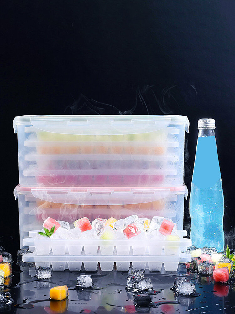 Multilayer Ice Cube Mold Ice Tray Maker For Kitchen Storage Home Kitchen Tools