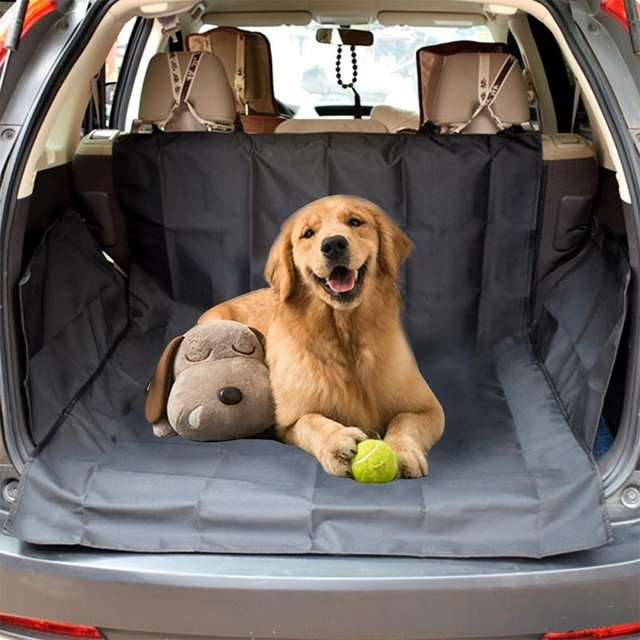Dog Trunk Cargo Liner - Trunk Protector for Dogs - Pet Trunk Mat for SUV - Car Seat Protector- Sturdy and Waterproof Trunk Cover