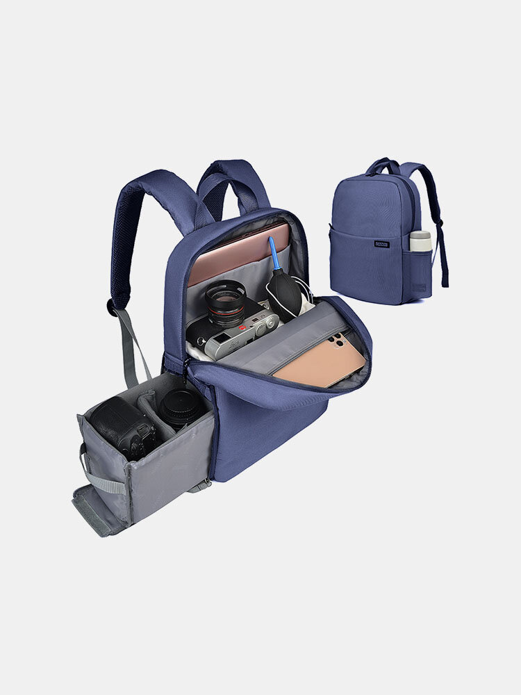 SLR Photography Backpack Double-layer Leisure Business Computer Backpack USB Multifunctional Digital Camera Bag