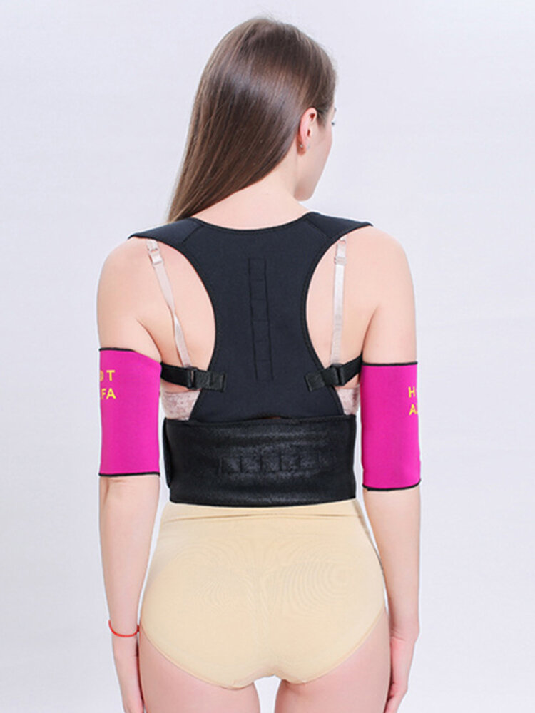 Women Posture Corrector Brace Adjustable Clavicle Support for Upper Back Correction Stretching Band