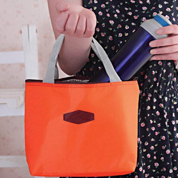Women Lunch Bag Aluminum Foil Insulation Bag Tote Bag Students Lunch Box Bag