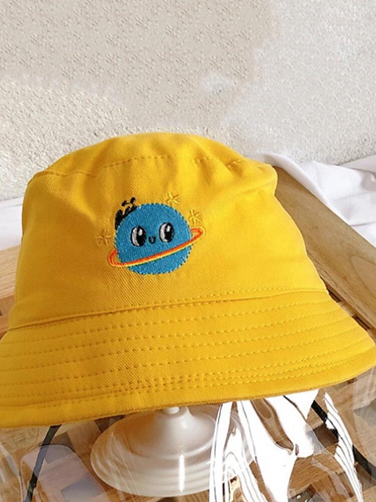 Detachable Face Screen Children's Sun Hat Windproof Transparent Fisherman Hat Dust Cap