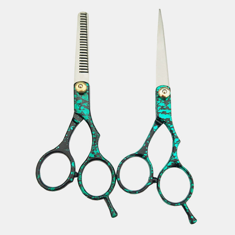 Stainless Steel Hair Scissors Thinning Cutting Barber Shears Hairdressing Hair Styling