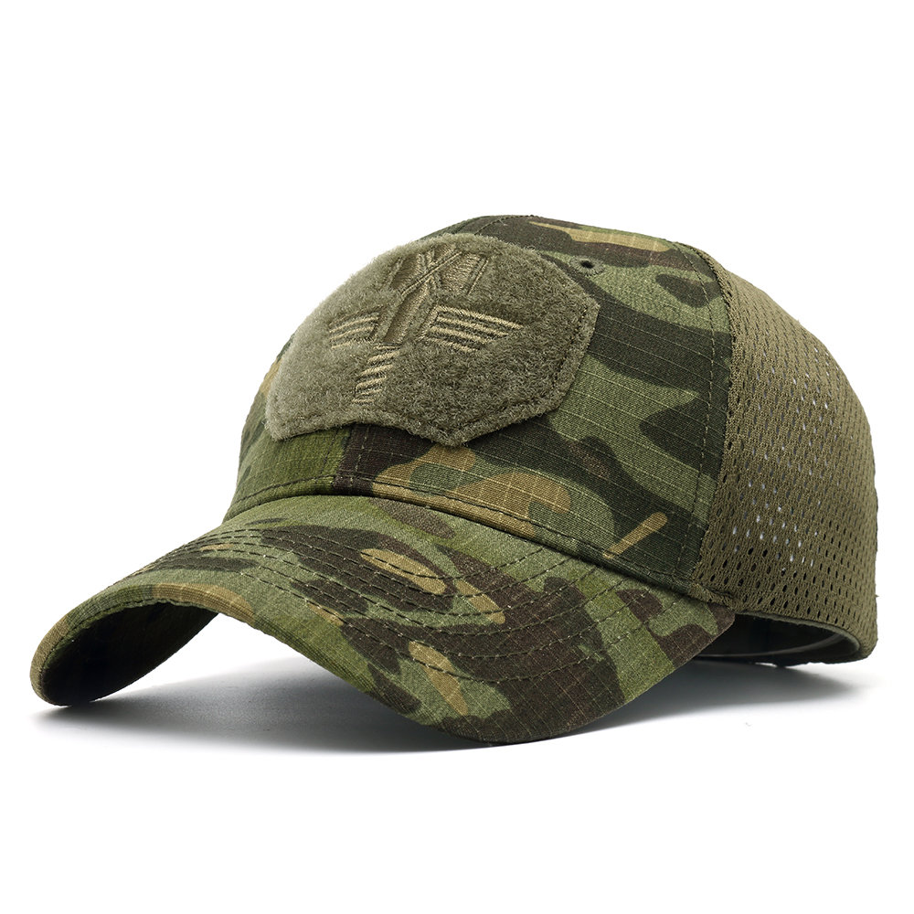 Men Multicam Camo Colorful Outdoor Tactical Baseball Cap Hunting Hiking Military Hat