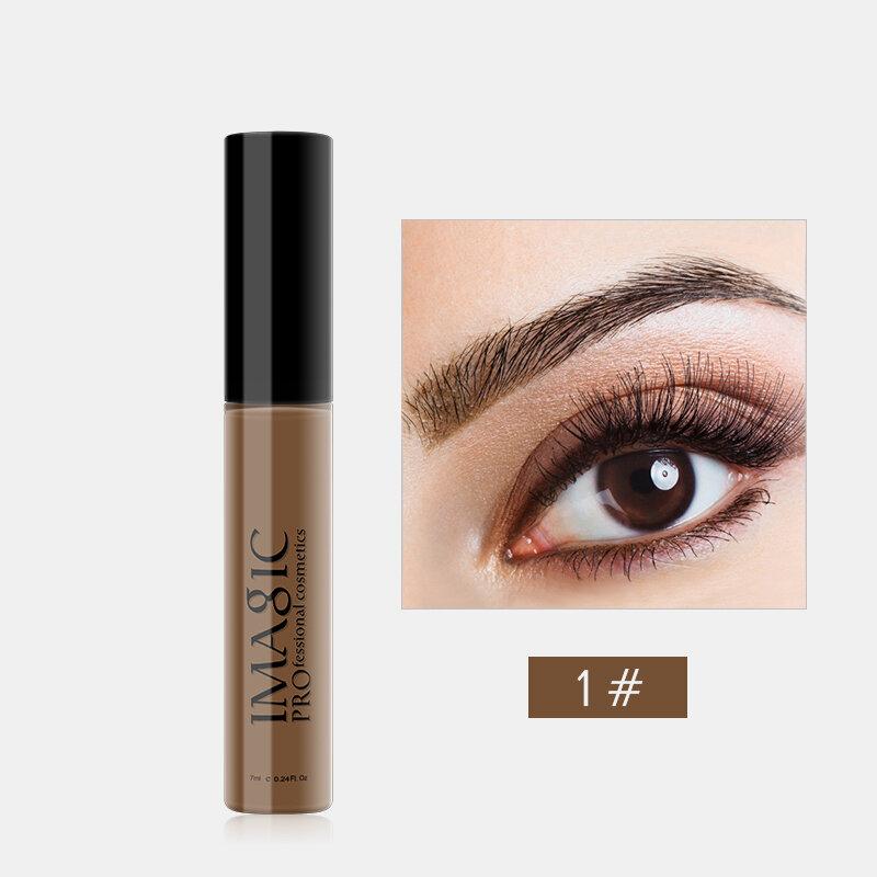 IMAGIC 4 Colors Durable Waterproof Dyeing Eyebrow Liquid Stereoscopic Thick Dyeing Eyebrow Cream