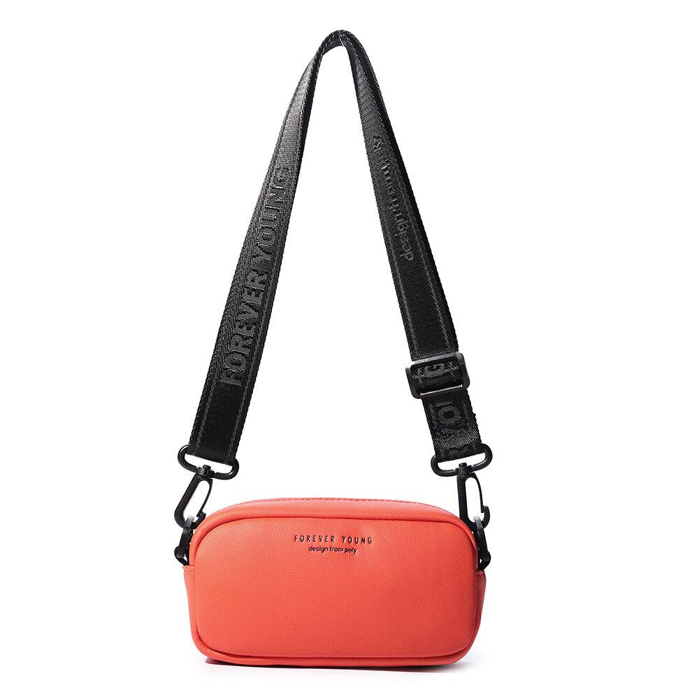 Women Solid Casual Sport Small Crossbody Bag