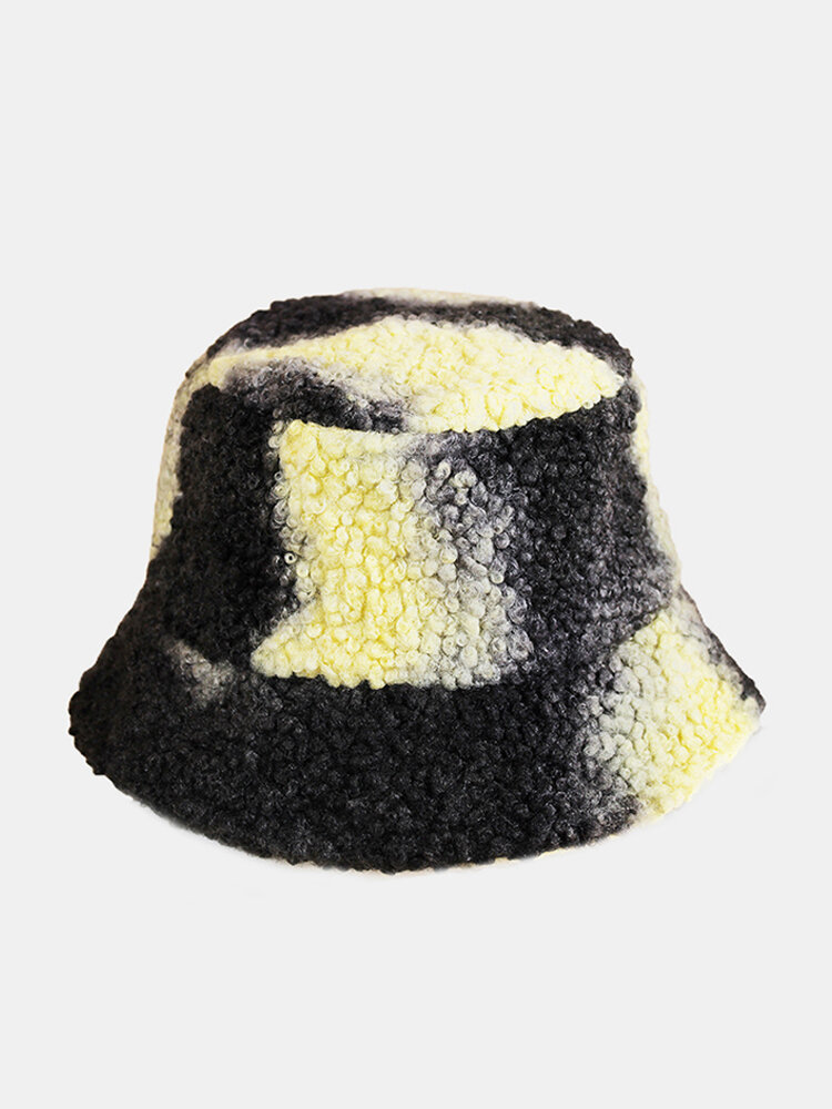 Men & Women Plush Warm Soft Ear Protection Outdoor Fashion Bucket Hat