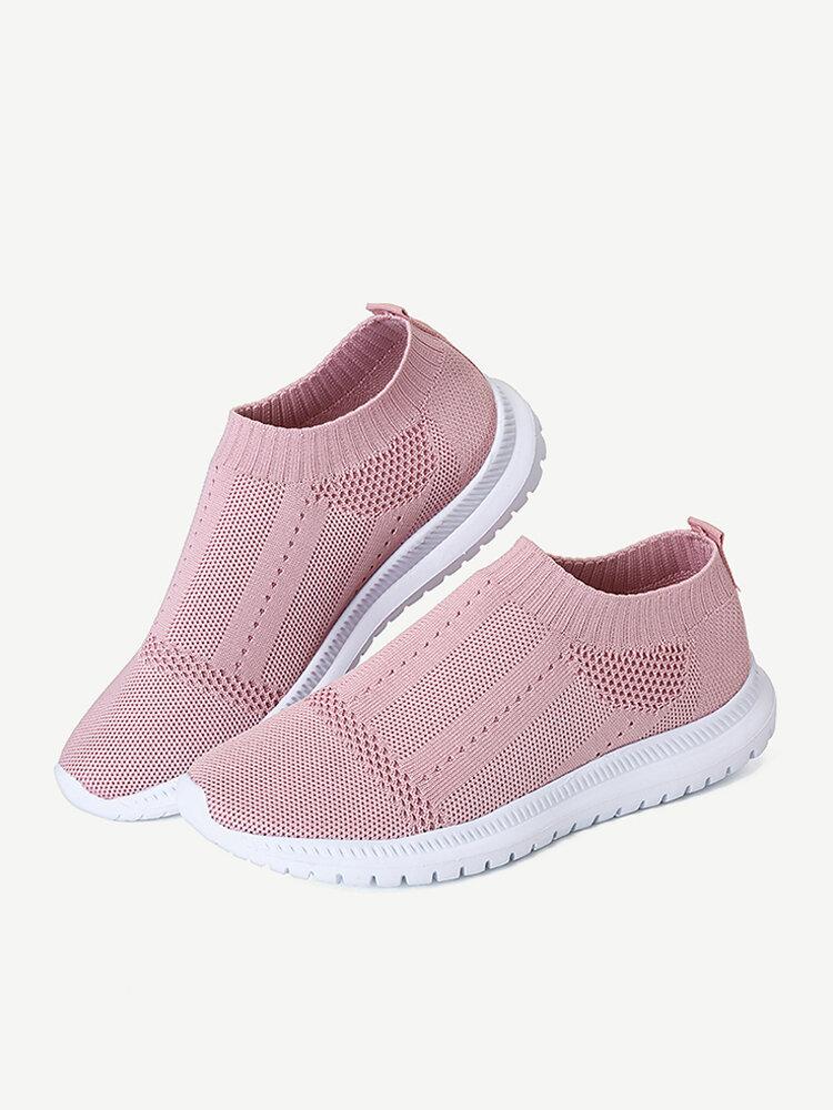 Mesh Lightweight Slip On Sport Running Casual Shoes
