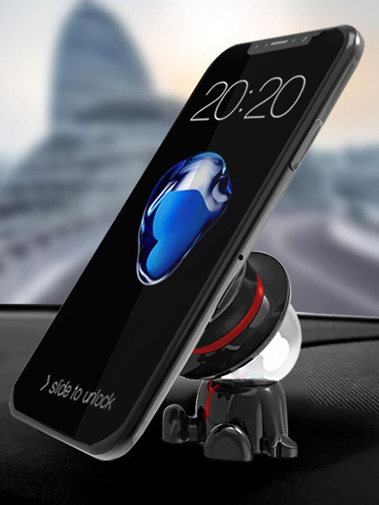 Car Mobile Phone Magnetic Bracket Creative Car Magnetic Gravity Navigation Support Frame