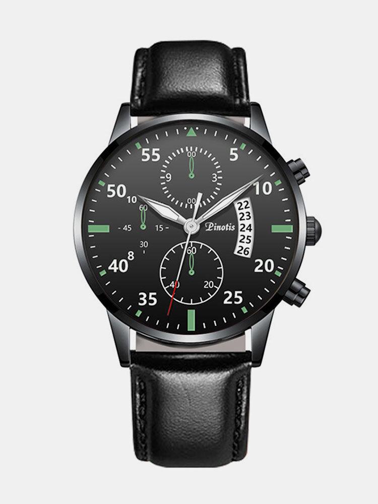 Alloy Business Casual Sports Belt Watch Quartz Watch For Men