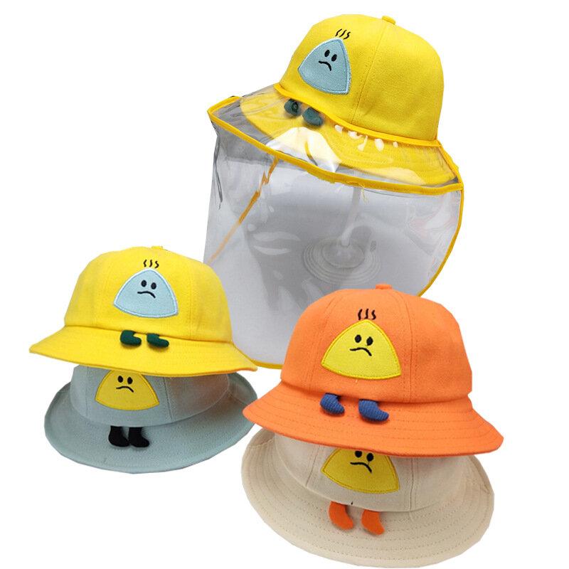 Fisherman Hat Anti-spray Protective Isolation Cap Children Epidemic Prevention Hat