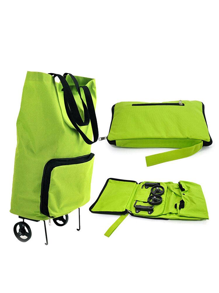 Einkaufstasche mit Räder tragbar Trolley klappbar