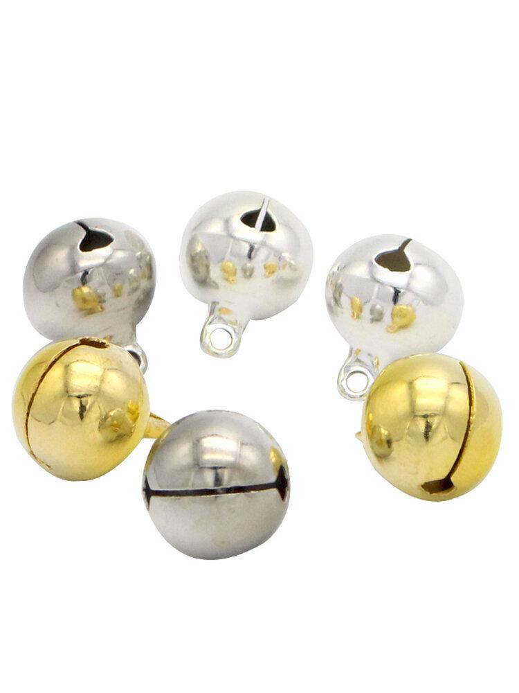 10pcs 14mm Jingle Bells Hanging Christmas Tree Ornaments Decorations Party DIY Crafts Accessories