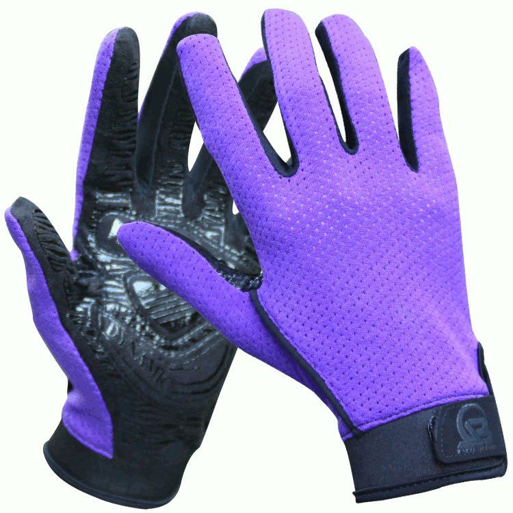 Mens Women Professional Outdoor Climbing Sports Gloves Mesh Full-finger Antiskid Mittens