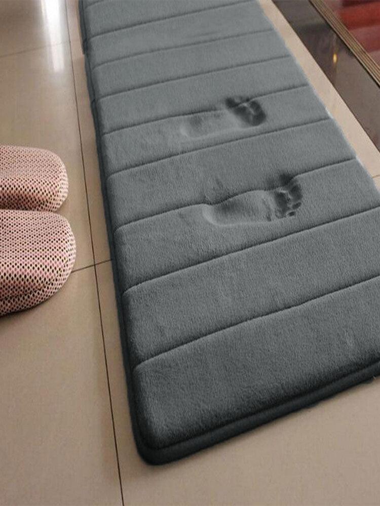 Water Absorbent Non-slip Bathroom Mats Soft Bath Rugs Memory Foam Rugs Carpet