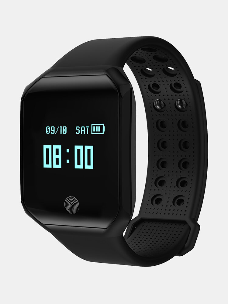 Z66 Sport Wristband Blood Pressure Pulse Heart Rate Tracker IP67 Waterproof Watch for IOS Android