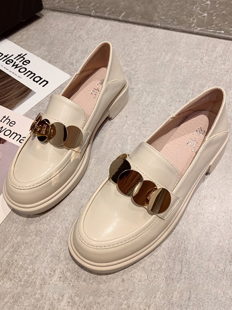 Women Casual Soft PU Comfortable Flat Loafers Shoes