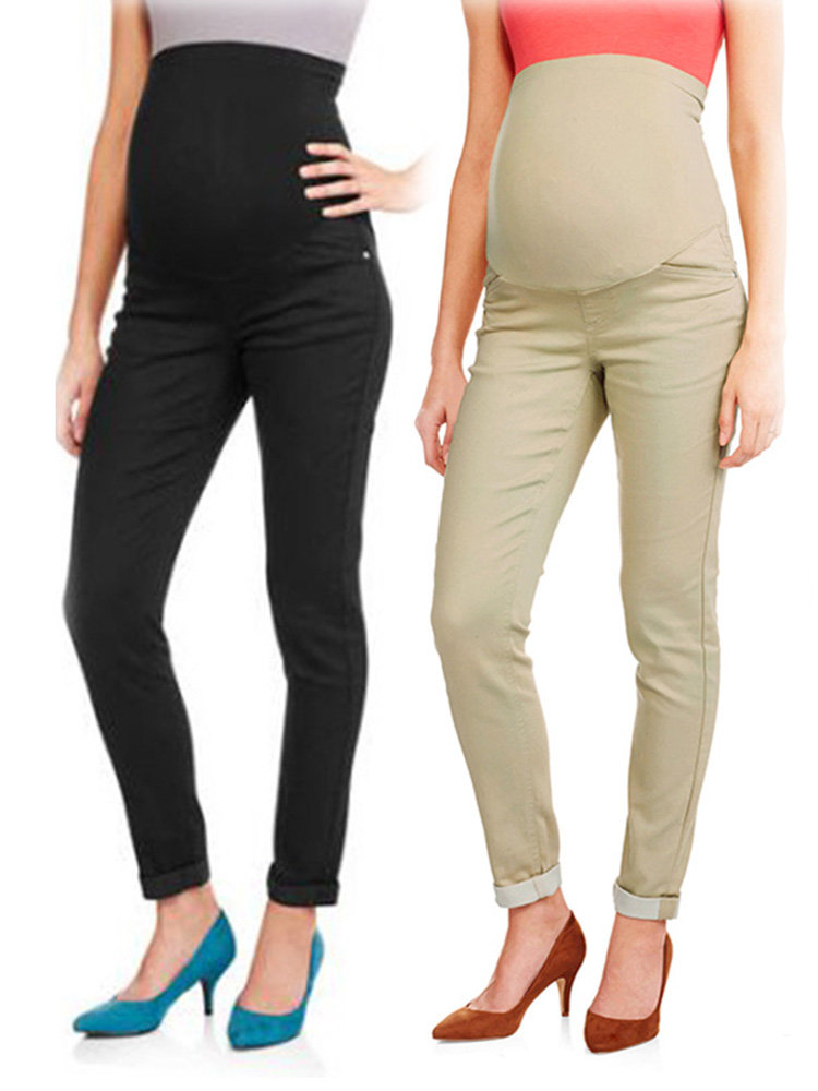 Belly Maternity Pants Elastic Waist Pencil Trousers Clothes for Pregnant Women Pregnancy Pants