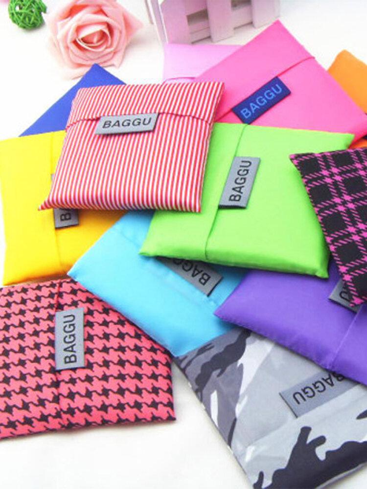 Waterproof Polyester Storage Bag Luggage Folding Handbag Shoulder Bag Shopping Storage Containers