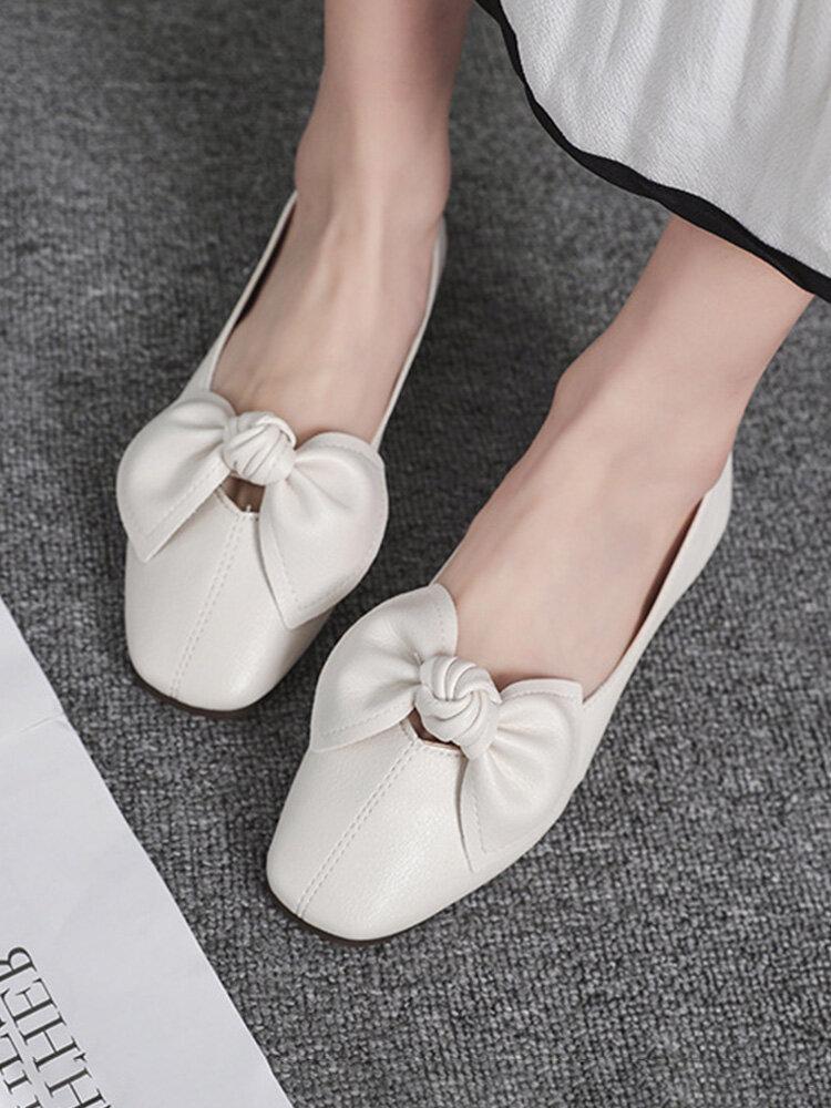 Повседневный лук Дизайн Одинарные туфли Комфортные Soft Симпатичные балетки для Женское