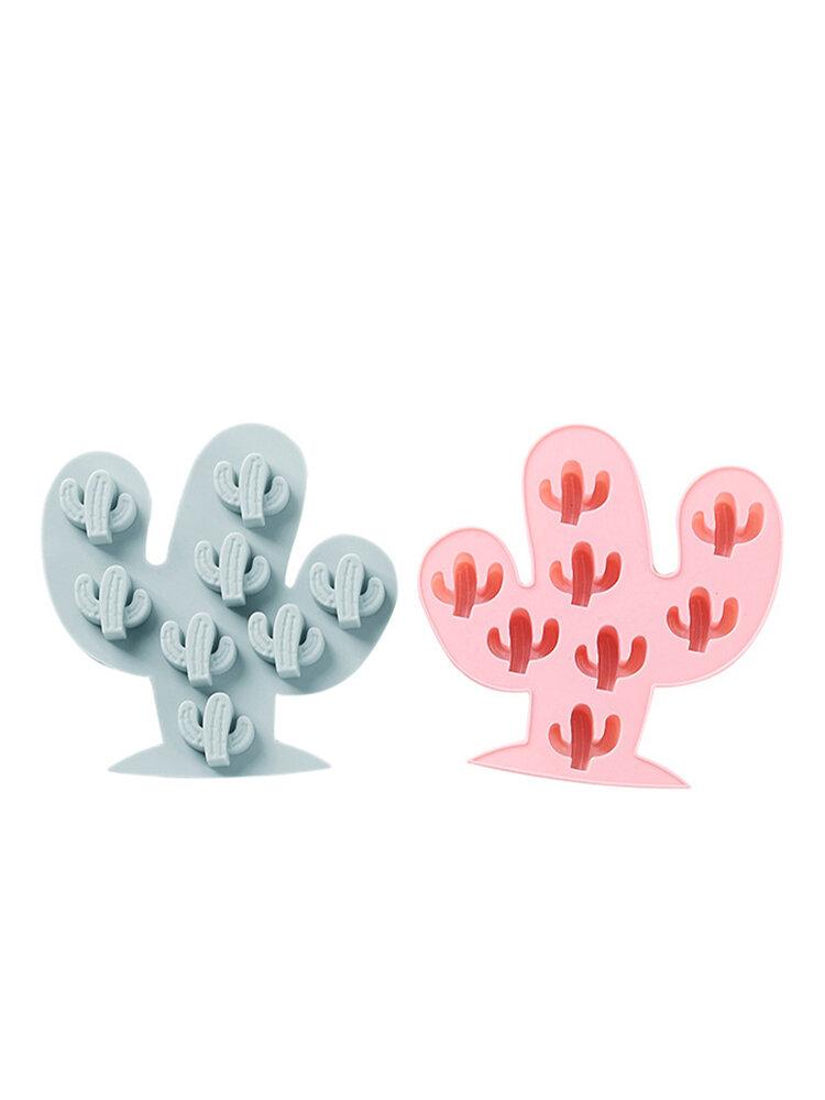 8 Cactus Silicona Molde para tartas hecho a mano DIY Molde para chocolate