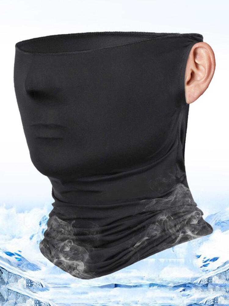 Unisex Breathable Quick-Drying Sunshade Anti-UV400 Flexible Soft Multi-Functional Face Mask Hat